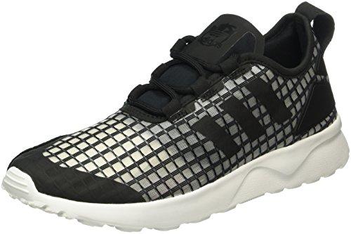 adidas Zx Flux Adv Verve, Baskets Basses Femme, Noir (Core Black/Core Black/Core White), 38 2/3 EU