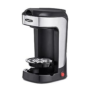 BELLA 13930 One Scoop One Cup Coffee Maker, Black