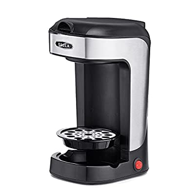BELLA 13930 One Scoop One Cup Coffee Maker, Black