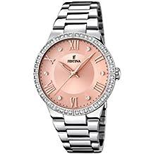 Festina Mademoiselle–Reloj de pulsera analógico para mujer cuarzo acero inoxidable F16719/3
