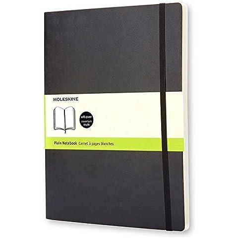 Moleskine QP623 - Cuaderno A4, 19 x 25 cm, color negro oscuro