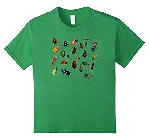 Insect Collection Bug Lover Designs - T-Shirt - Mixte - - 4 ans