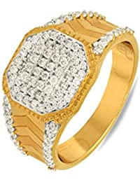 P.N.Gadgil Jewellers Lavanya Collection 22k (916) Yellow Gold Ring - B01M7P72AR