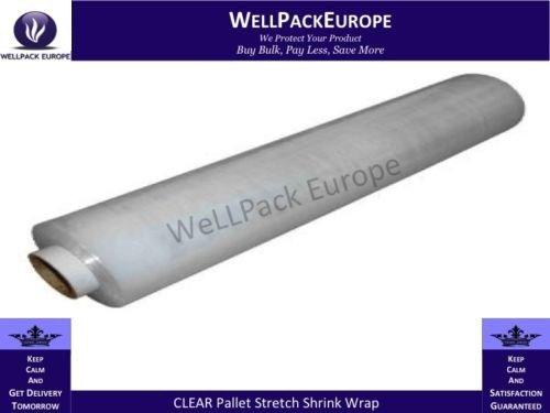 Elasticizzata con colore bianco-SHRINK WRAP Bag It Plastics-Fascia elasticizzata, 400 mm x 300 m, 2 rotoli NEXT DAY ******UK DELIVERY, per visualizzare un catalogo Amazon cerca> Wellpack Europe