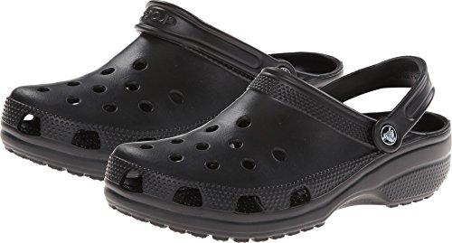 Crocs Classic Clog, Zuecos Unisex Adulto, Negro Black 001, 46/47 EU