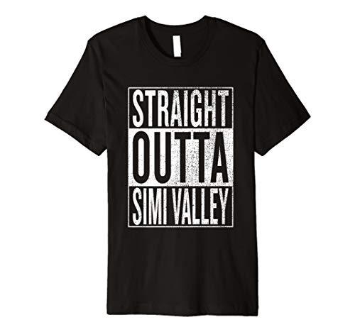 Gerade Outta Simi Valley Tolles Reisen & Geschenkidee T-Shirt