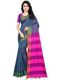 7723d8e325dca Shree Ram Krishna Soft-Silk Plain Saree With Blouse Piece-Pink