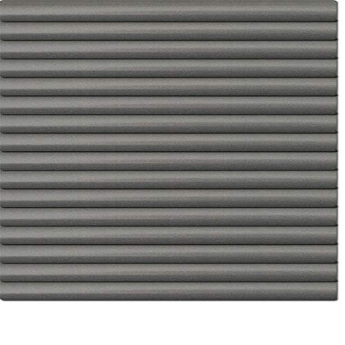 Dekologi Aluminium Jalousie 40 x 220 cm (Breite x Höhe) - Lamellenfarbe 1713 grausilber dunkel//Maßanfertigung Alu Jalousien Jalousette Rollo Plissee
