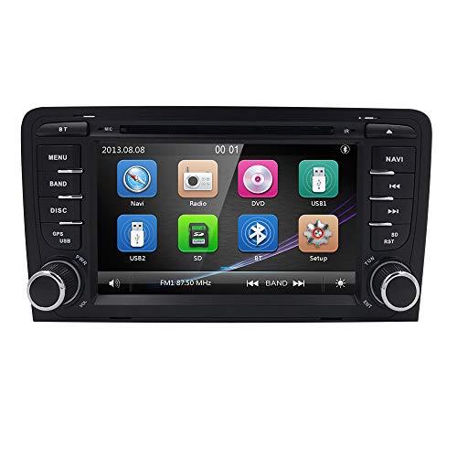 Hizpo Auto Radio Multimedia Player Audi A3 S3 RS3