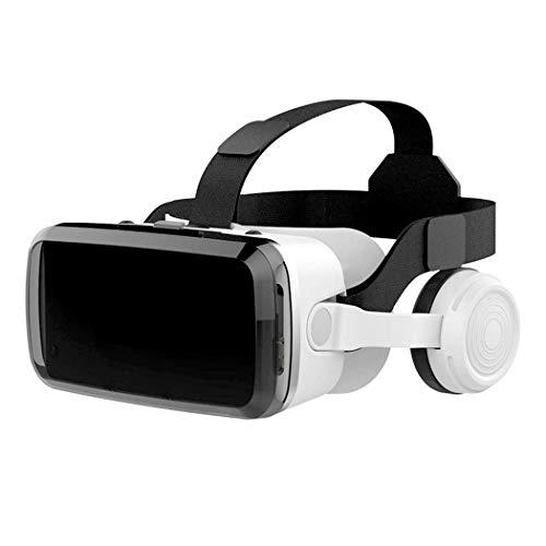 GTJXEY VR Headset 3D-Brille, Virtual Reality Headset Für VR-Spiele Und 3D-Filme-Pack Kunststoff Material Unterstützung 4,7-6,0 Inches