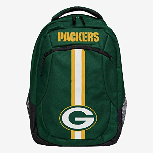 Forever Collectibles FOCO Green Bay Packers Action Stripe NFL Rucksack Grün