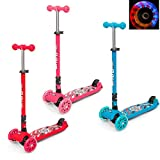 CMY Kids Scooter Tilt and Turn Kick 3 Wheel Lightweight scooter for Toddler
