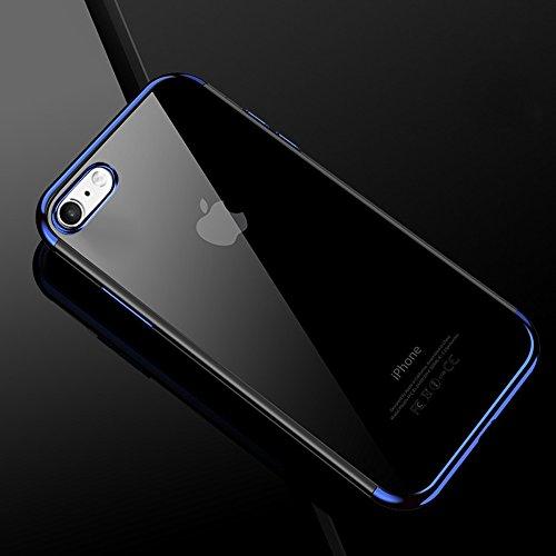 e3c5a88fd09 Custodia iPhone 7 Plus, iPhone 8 Plus Cover Silicone Ultra Slim, SainCat  Cover per ...
