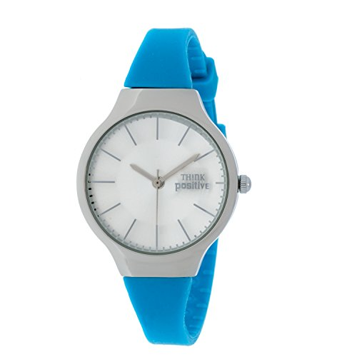 ladies-think-positiver-model-se-w31-classic-steel-strap-of-silicone-color-light-blue