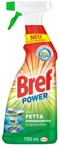 Bref Power gegen Fett&Eingebranntes, 8er Pack (8 x 750 ml) -