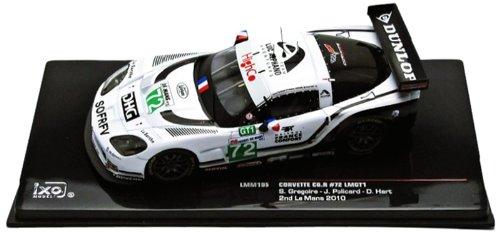 ixo-lmm195-vehicule-miniature-modele-a-lechelle-chevrolet-corvette-c6r-lmgt1-le-mans-2010-echelle-1-