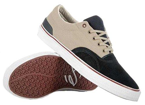 Es Skateboard-schuhe (ES Footwear Skateboard Schuhe Manderson Navy/Grey, Schuhgrösse:42.5)