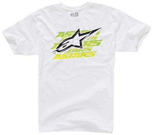 Alpinestars Herren T-Shirt Dawn Tee White, S