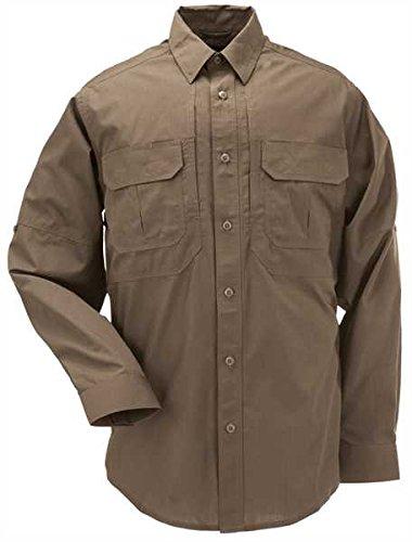 5.11 Herren Langarmshirt TacLite Professional Battle Brown