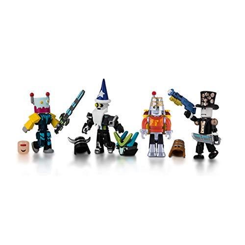 Roblox 10872 Robot Riot Mix n Match 4 Figure Pack
