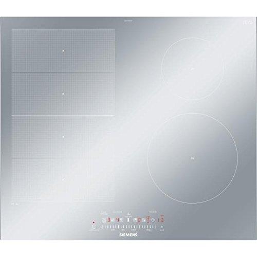 Siemens EX679FEC1F plaque Acier inoxydable Intégré Plaque avec zone à induction - Plaques (Acier inoxydable, Intégré, Plaque avec zone à induction, Vitrocéramique, 1400 W, Rectangulaire)