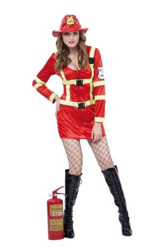 Party Pro 87286845Sexy Feuerwehr Kostüm, - Sexy Feuerwehr Kostüm