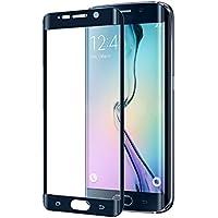 Celly Glass Protezione in Vetro Temperato per Samsung Galaxy S6 Edge Plus, Anti-Impronte, Nero