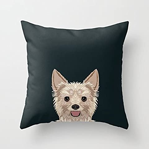 Elegancebeauty 18 X 18 Inches / 45 By 45 Cm Dogs Pillow Cases,each Side Is Fit For Him,lover,sofa,monther,living Room,gril Friend