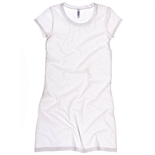 Bella Canvas Jersey T-Shirt-Kleid Midnight