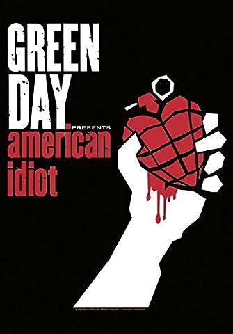 Greenday - American Idiot Flagge