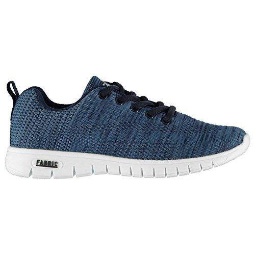 Fabric Flyer Runner Enfant Garçons Chaussures Baskets À Lacets Sneakers Sport Bleu
