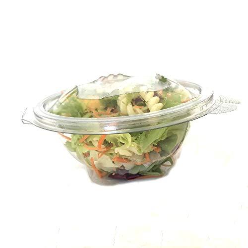 50 set di vaschette alimentari fresche per insalata con coperchi monouso, 1500 ml