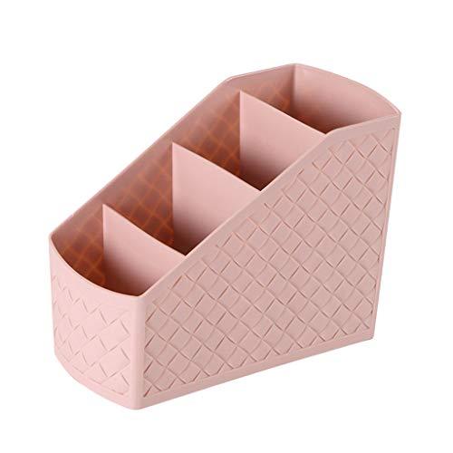 NJ Caja de Almacenamiento- Caja de Almacenamiento plástica de los cosméticos de Escritorio, tocador cosmético de la Caja de Almacenamiento de la Sala de Estar joyero teledirigido