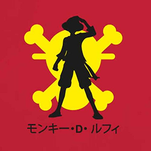 Luffy Skull - Damen T-Shirt Grün