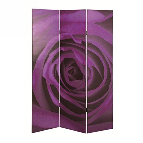 Haku-Möbel 30934 Paravent,120 x 3 x 180 cm, lila