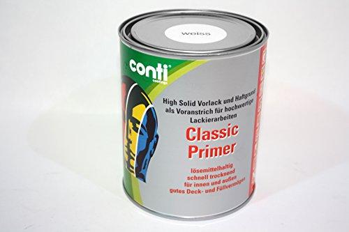 Conti Classic Primer Grundierung und Vorlack Weiß (1 Liter)
