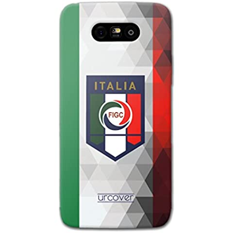 Original Urcover®| Custodia per LG G5 - [Campionati Europei] [TPU] [Tappi Antipolvere] Case Smartphone Cover Telefonino Custodia Cellulare [ Italia ]