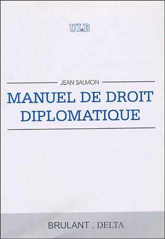 Manuel de droit diplomatique