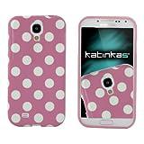 Katinkas Soft Cover für Samsung Galaxy S4 Dotty rose/weiß