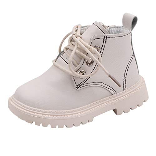 LEXUPE Baby schönen Herbst Winter warme weiche Sohle Schneeschuhe weiche Krippe Schuhkleinkind Stiefel (Weiß,26) -