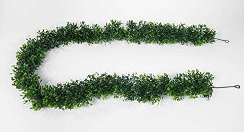 Seidenblumen Roß Buchsbaumgirlande 180cm PM Kunstpflanzen künstliche Buchsgirlande Buchsbaum Kunststoff 100% PE Spritzgussverfahren
