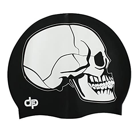 Diapolo Skull Silicone Swim Cap Swimming Cap
