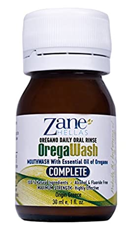 OREGAWASH Oregano Daily Oral Rinse [Rinçage Oral Quotidien à l'origan].