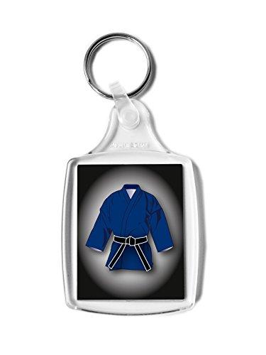 Cinturón negro regalo, Gi rectangular llavero, Karate, Kickboxing, Judo, Ju Jitsu, clasificación Pass regalo