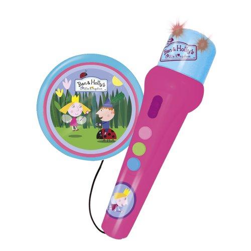 Preisvergleich Produktbild Reig 1765 - Ben and Holly Hand-Mikrofon mit Aktivlautsprecher