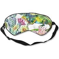 Cactus Watercolor 99% Eyeshade Blinders Sleeping Eye Patch Eye Mask Blindfold For Travel Insomnia Meditation preisvergleich bei billige-tabletten.eu