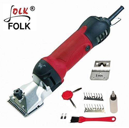 Folk Esquiladora peladora FL8B Caballo 500W Cabezal