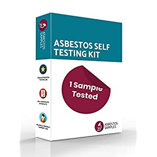 Asbestos Self Testing Kit | 1 Sample Tested | UKAS Accredited Lab Certificate | Industry Approved Protective Equipment | Fast Results