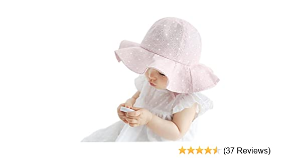 Xshuai Baby Hat for 1-4 Years Old Kids Fashion Toddler Infant Kids Sun Cap Summer Outdoor Baby Girls Boys Sun Beach Cotton Hat