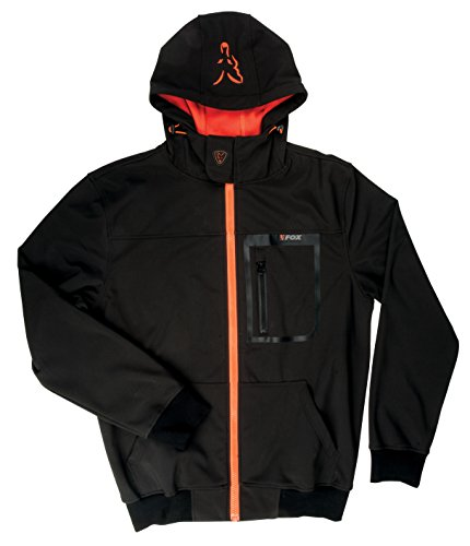 fox-black-orange-softshell-hoodie-angeljacke-anglerjacke-softshelljacke-wasserdicht-atmungsaktiv-jac